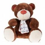 Медвежонок Тимоша. коричневый 28 см