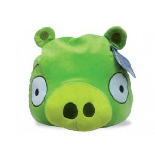 Angry Birds декоративная подушка зеленая свинка Green Pig 30см 1TOY
