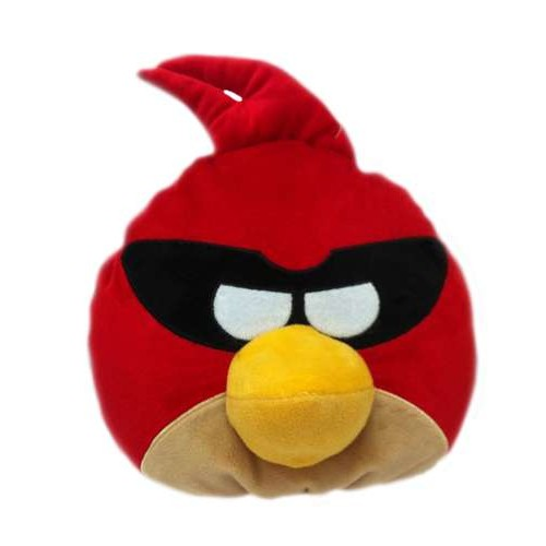 Angry Birds Space декоративная подушка красная птица Super Red bird 25см 1TOY