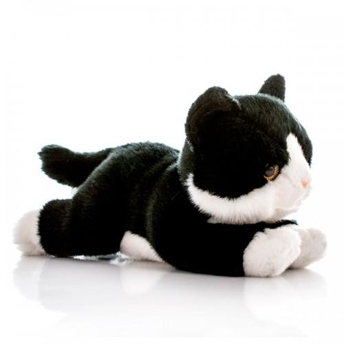 Котенок черный 28 см