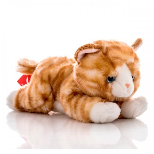 Котенок рыжий 28 см