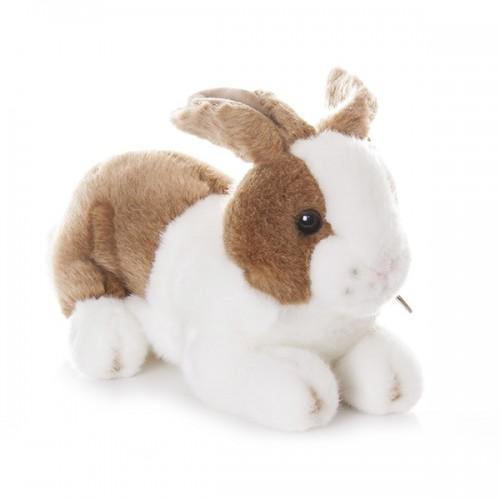 Кролик коричневый 25 см