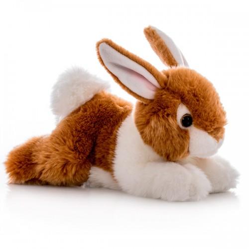 Кролик коричневый 28 см