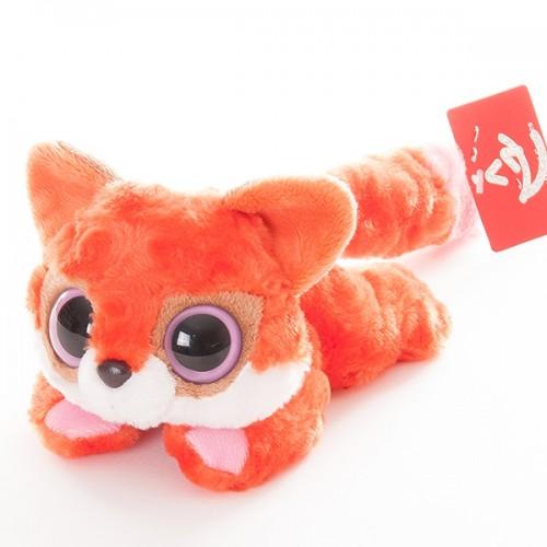 Лисица красная лежачая 16 см