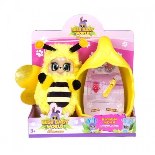 Пчелка Бри со спальным коконом 20 см Bush baby world