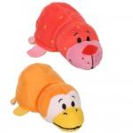 Вывернушка Ням-Ням 2-в-1 12 см. Морской котик с ароматом клубники-Пингвинчик с ароматом апельсиновой газировки