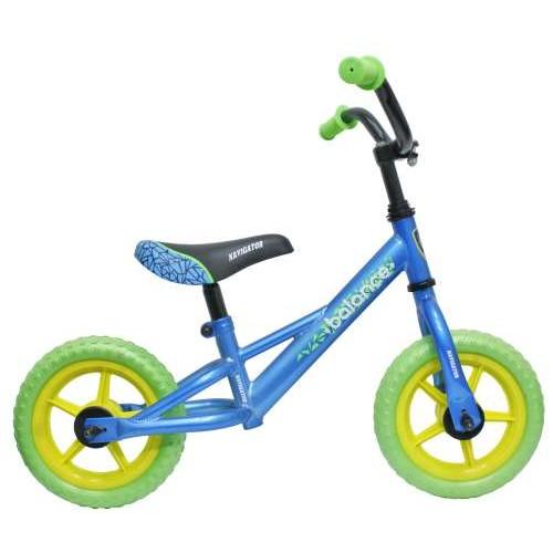 Беговел Balance сине-зеленый Navigator (Навигатор)