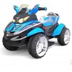 Квадроцикл 00 -мотор 30Вт синий 1Toy