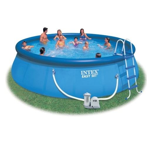 Надувной бассейн изи сет 549х107см Intex (Интекс)