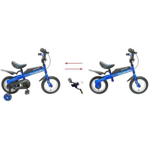 Велосипед / Беговел 2в1, 12д. Transform синий Navigator (Навигатор)