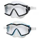 Плавательная маска силикон исследователь про 14+лет 2цв. Intex (Интекс)
