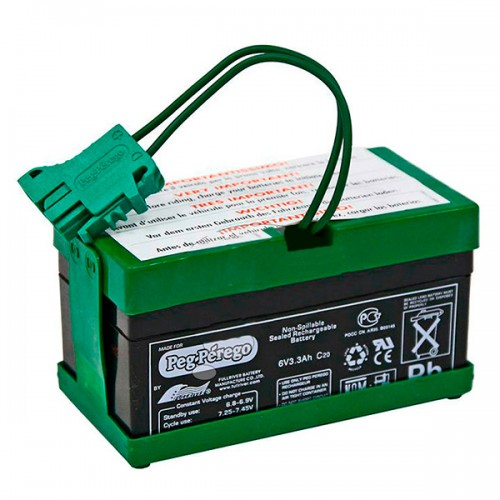 Аккумулятор 6V 6,5Ah Peg-Perego