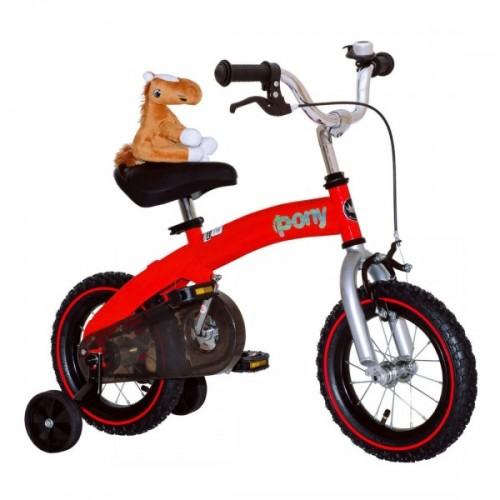 Беговел-велосипед (2 в 1) Royal Baby Pony (красный)
