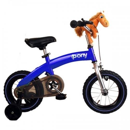Беговел-велосипед (2 в 1) Royal Baby Pony (синий)
