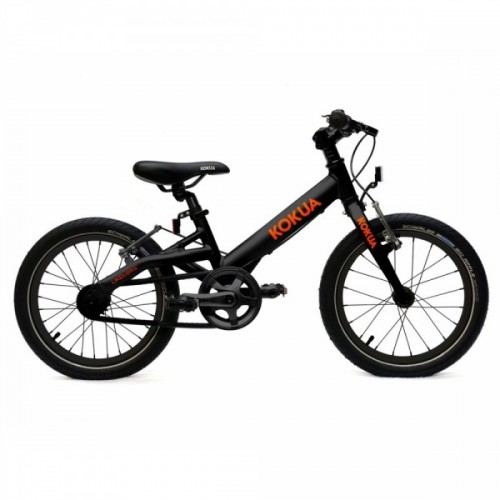 "Детский велосипед Kokua LiketoBike Special с колесами 16"" (black)"