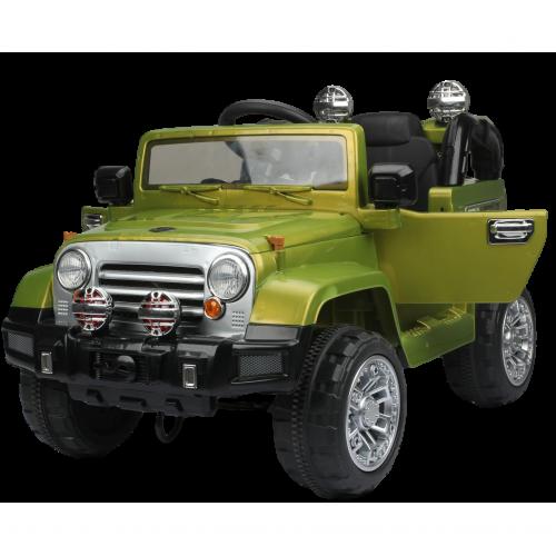 Электромобиль Джип зеленый 1TOY