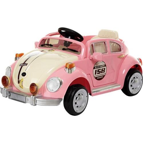 Электромобиль Жук розовый 1TOY