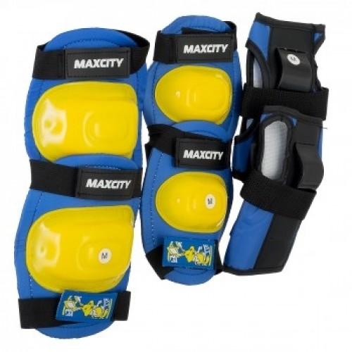 Комплект защиты MaxCity Little Rabbit L (голубой)