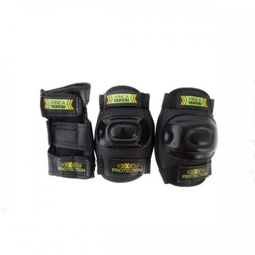 Комплект защиты Vinca Sport (черный) M