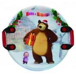 Маша и Медведь ледянка 54см круглая с плотными ручками