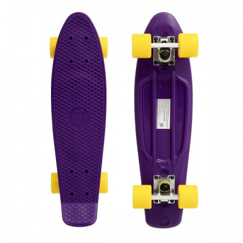"""Мини-круизер Fish Skateboards 22"""" (фиолетовый)"""