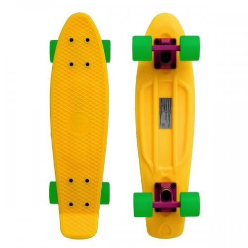 "Мини-круизер Fish Skateboards 22"" (желто-зеленый)"