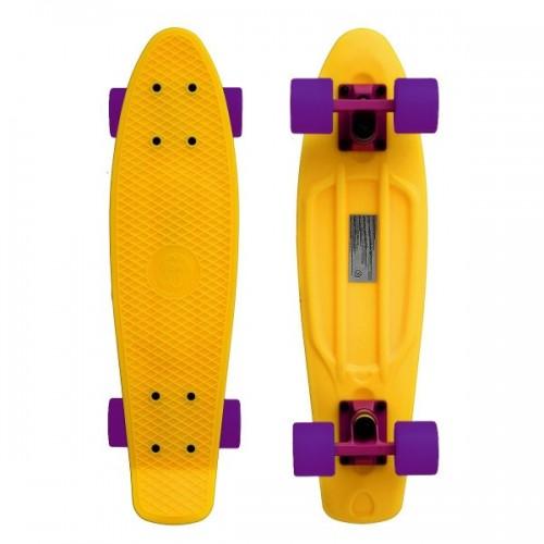 """Мини-круизер Fish Skateboards 22"""" (желтый)"""