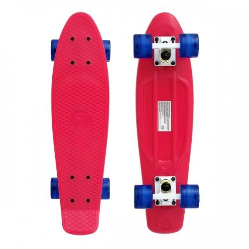 "Мини-круизер Fish Skateboards 22"" (сине-розовый)"
