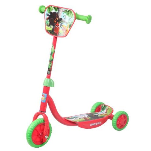 Самокат 3х колесный Angry Birds 1TOY