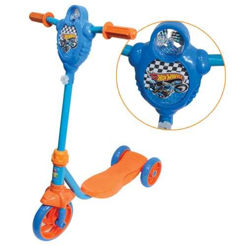 Самокат 3х колесный Hot wheels 1TOY