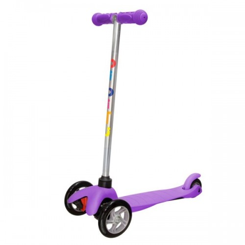Самокат BiBiTu Sweet (фиолетовый)