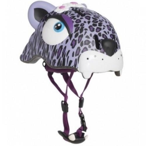 Шлем Crazy Safety (Purple Leopard)