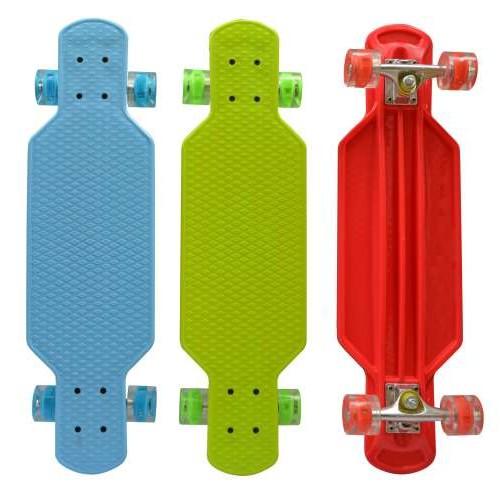 Скейт пластиковый со светом 73х20см Navigator