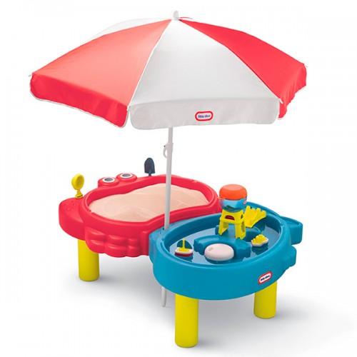 Стол-песочница с зонтом Little Tikes