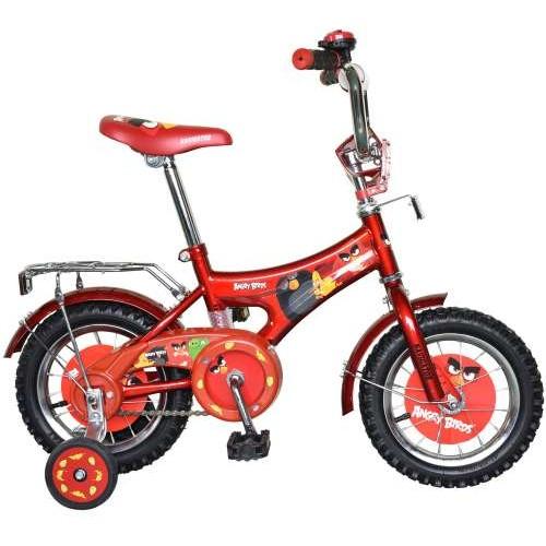 Велосипед 12д. Angry Birds, AB-1-тип красный Navigator