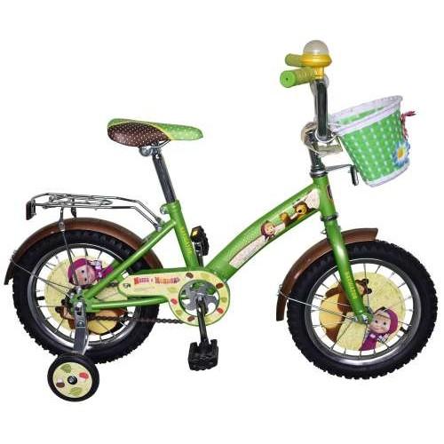 Велосипед 14д. Маша и Медведь, KITE-тип Navigator