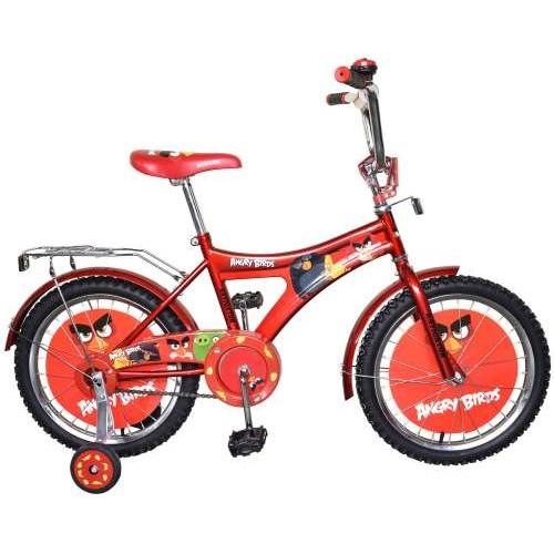 Велосипед 16д. Angry Birds, AB-1-тип красный Navigator