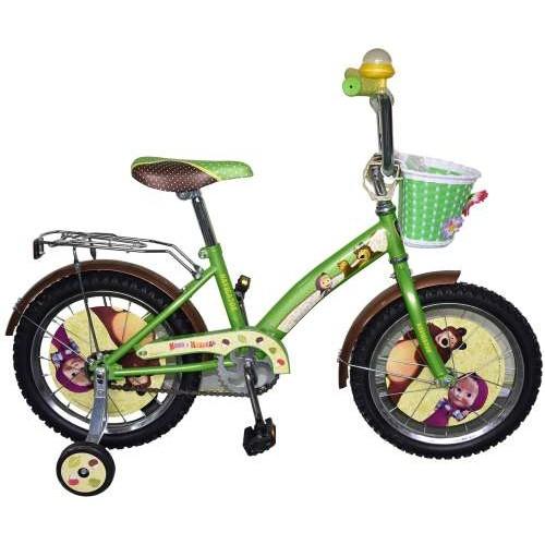 Велосипед 16д. Маша и Медведь, KITE-тип Navigator