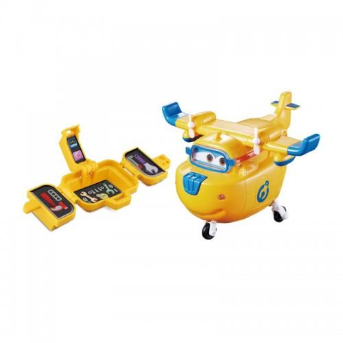 Донни с чемоданчиком, свет, звук, Супер Крылья (Super Wings)